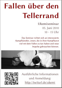 "Flyer ""Ukemiseminar"""